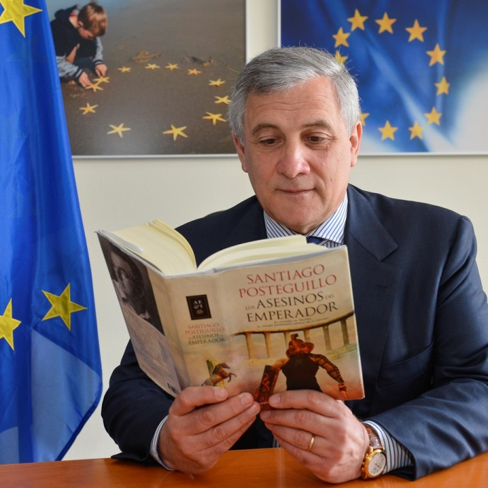Antonio TAJANI Vice-PresidentCommissioner in charge of Industry and Entrepreneurship