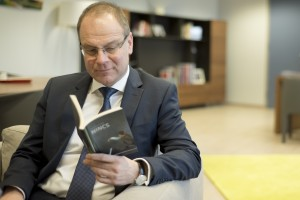 Tibor Navracsics, Member of the EC in charge of Education, Culture, Youth and Citizenship poses for a portrait